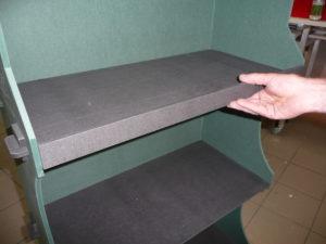 La PLV signalétique en magasin, exemple d'un présentoir détaillé de magasin